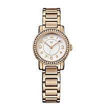 Tommy Hilfiger Ladies' Rose Gold Plated Crystal Set Watch - Product number 2329026