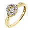 Diamonds In Rhythm 9ct Yellow Gold Round Diamond Ring - Product number 2330237