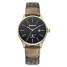 Barbour Glysdale men's brown fabric strap watch - Product number 2332698