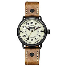 Barbour International Fowler men's leather strap watch - Product number 2332752
