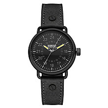 Barbour International Fowler men's leather strap watch - Product number 2332779