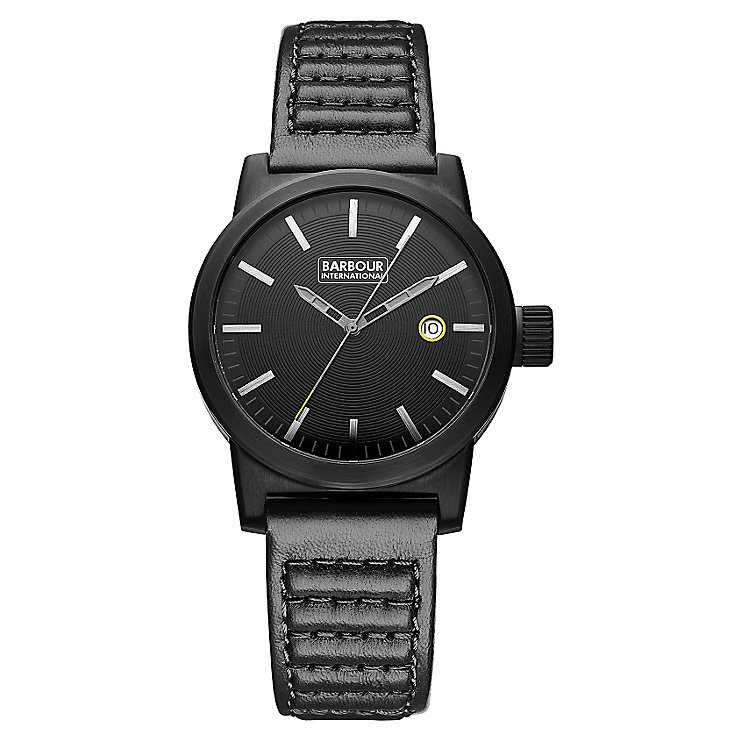 Barbour International Halsted men's leather strap watch - Product number 2332787