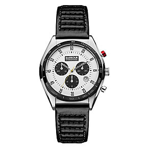 Barbour International Boswell men's leather strap watch - Product number 2332795