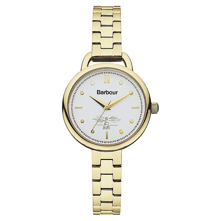 Barbour Finlay gold-plated bracelet watch - Product number 2333201