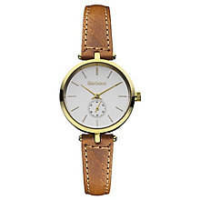 Barbour Lisle ladies' brown leather strap watch - Product number 2333481