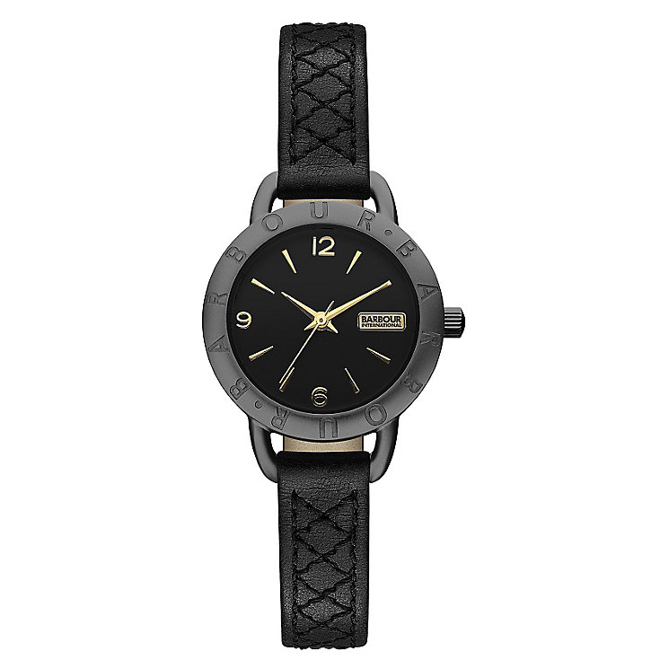 Barbour International Belsay ladies' leather strap watch - Product number 2333562