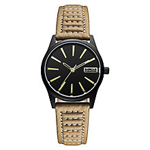 Barbour International Bewick men's brown leather strap watch - Product number 2333589