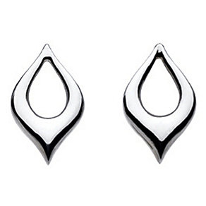 Kit Heath Sterling Silver Teardrop Stud Earrings - Product number 2335484