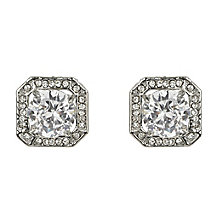 Mikey Vintage Style Large Square Crystal Stud Earrings - Product number 2335816