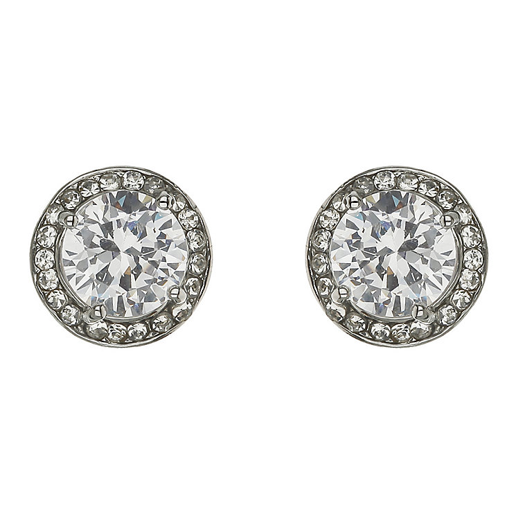 Mikey Large Round Crystal Studs - Product number 2335913