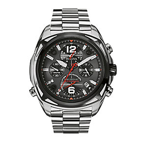 Bulova Precisionist Men's Stainless Steel Bracelet Watch - Product number 2336162