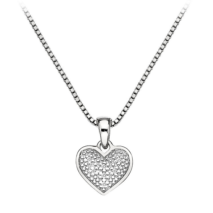 Hot Diamonds Sterling Silver Diamond Heart Pendant - Product number 2336251