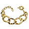 Guess Yellow Gold Plated Crystal Leopard Print Curb Bracelet - Product number 2336545