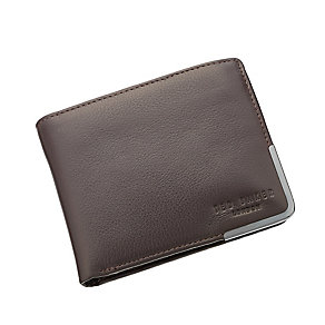 Ted Baker Bontray chocolate leather bi-fold wallet - Product number 2339285
