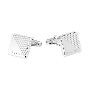 Ted Baker Strocuf silver metal square cufflinks - Product number 2339528