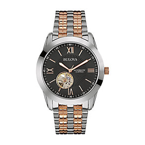 Bulova Men's Two Colour Automatic Watch - Product number 2340356