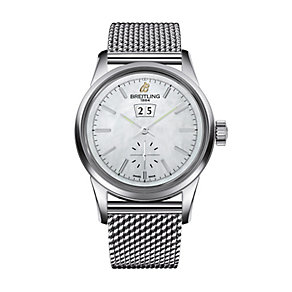 Breitling men's stainless steel bracelet watch - Product number 2342510