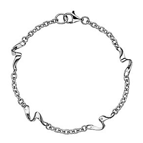 Hot Diamonds sterling silver pirouette bracelet - Product number 2345927
