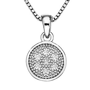 Hot Diamond Stargazer sterling silver circle pendant - Product number 2345994