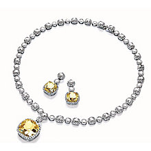 Attwood & Sawyer By Buckley Glamorous Earring & Necklace Set - Product number 2349442