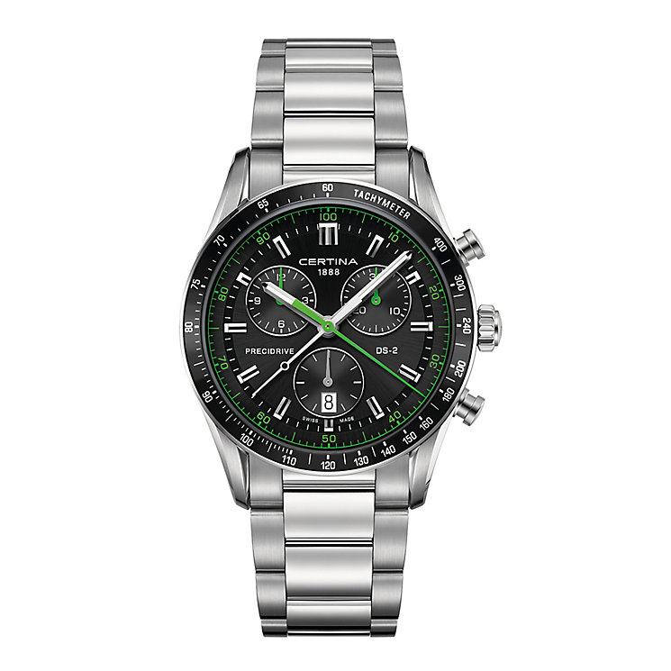 Certina DS2 men's stainless steel chronograph bracelet watch - Product number 2351579