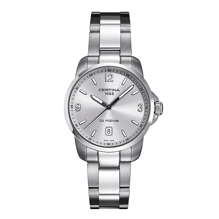 Certina DS Podium men's stainless steel bracelet watch - Product number 2351722