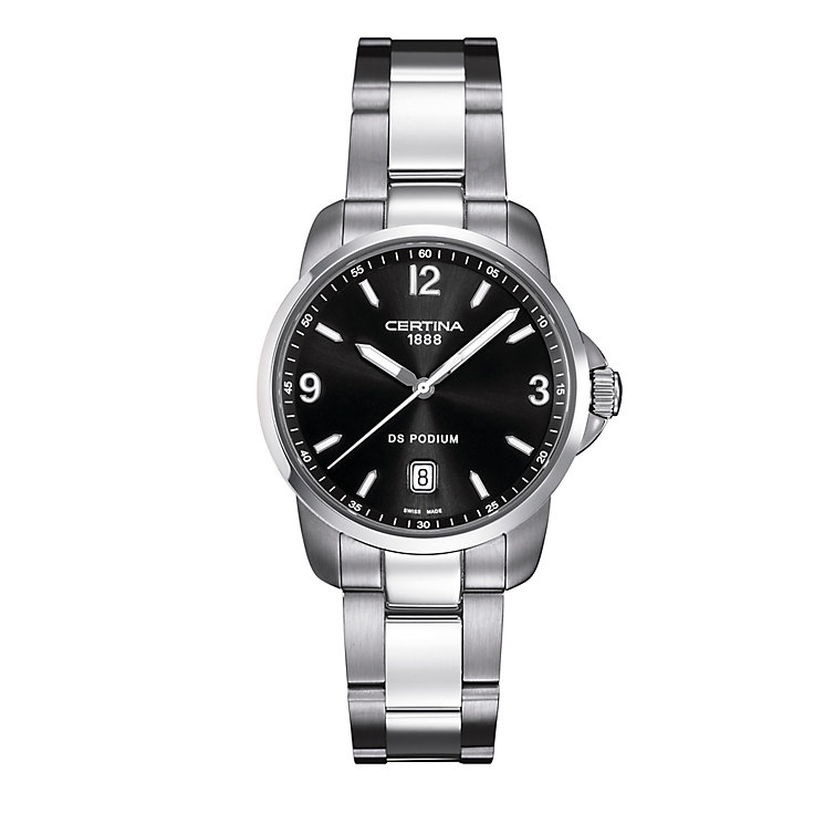 Certina DS Podium men's stainless steel bracelet watch - Product number 2351730