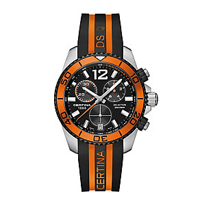 Certina DS Action men's two colour leather strap watch - Product number 2352206