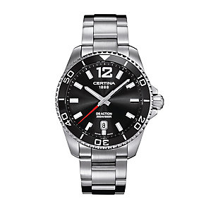 Certina DS Action men's stainless steel bracelet watch - Product number 2352214