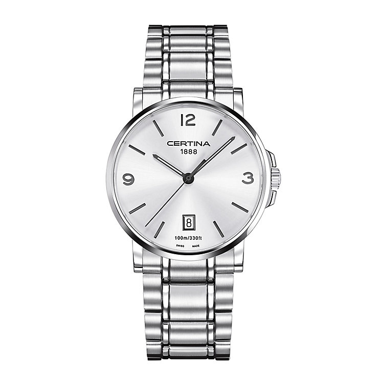 Certina Caimano men's stainless steel bracelet watch - Product number 2352362