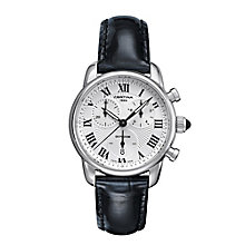 Certina DS Podium ladies' black leather strap watch - Product number 2352486