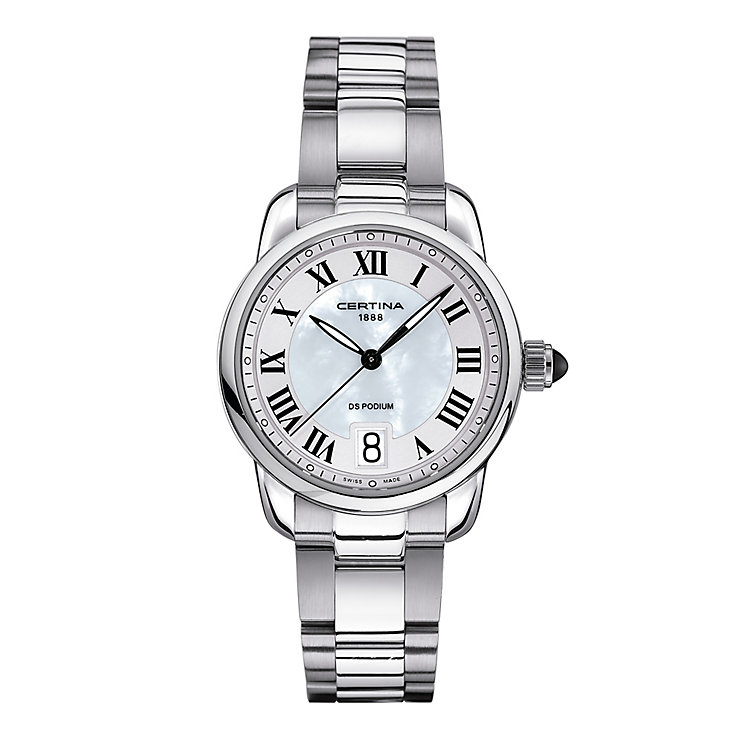 Certina DS Podium ladies' stainless steel bracelet watch - Product number 2352583