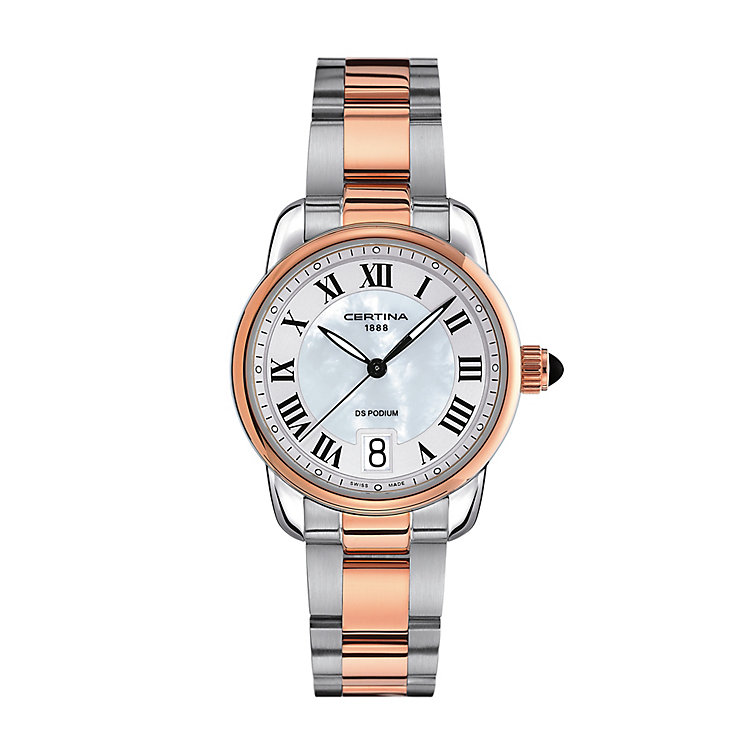 Certina Podium ladies' two colour bracelet watch - Product number 2352591