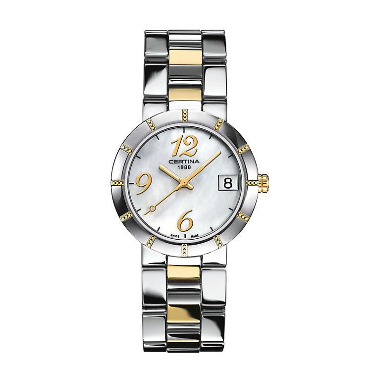 Certina DS Stella ladies' 2 colour bracelet watch - Product number 2352699