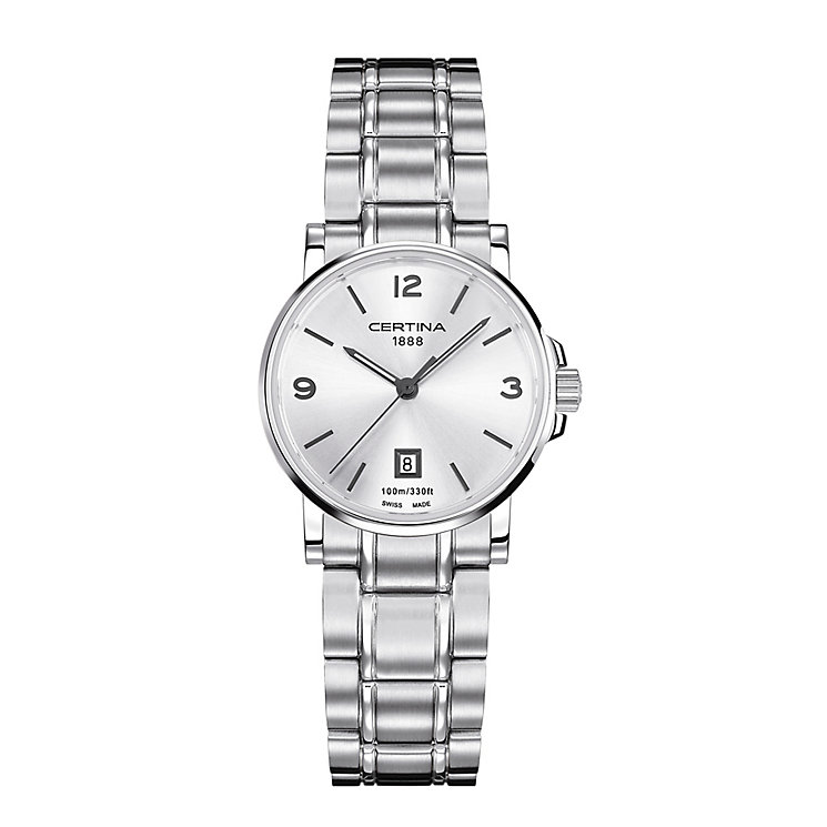 Certina DS Caimano ladies' stainless steel bracelet watch - Product number 2352710