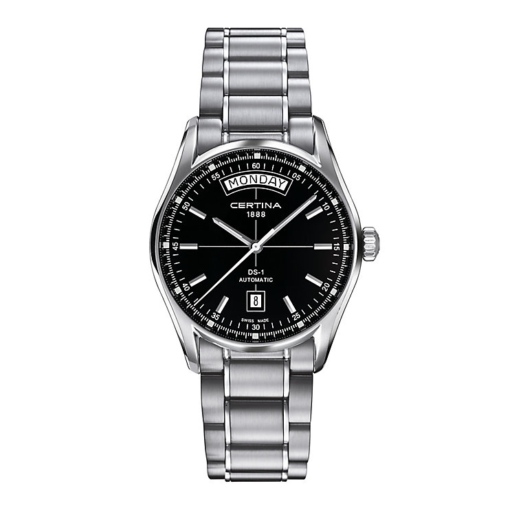 Certina DS1 stainless steel bracelet watch - Product number 2353296