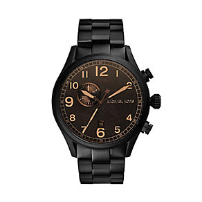 Michael Kors Men's Ion Plated Bracelet Watch - Product number 2353423