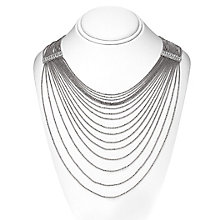 14ct silver-plated ball chain necklace - Product number 2358611