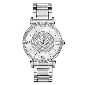 Michael Kors Caitlin ladies' stainless steel bracelet watch - Product number 2360144