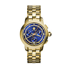 Tory Burch Ladies' Gold Tone Chronograph Bracelet Watch - Product number 2361620