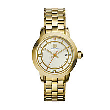 Tory Burch Ladies' Gold Tone Bracelet Watch - Product number 2361639