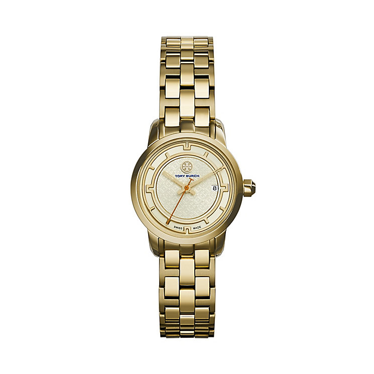 Tory Burch Ladies' Gold Tone Bracelet Watch - Product number 2361698