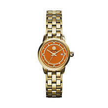 Tory Burch ladies' gold-tone bracelet watch - Product number 2361701