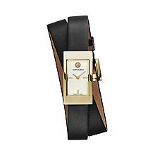 Tory Burch Buddy Ladies' Double Wrap Leather Strap Watch - Product number 2361825
