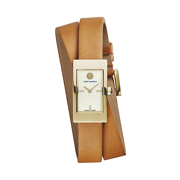 Tory Burch Buddy Ladies' Double Wrap Leather Strap Watch - Product number 2361833