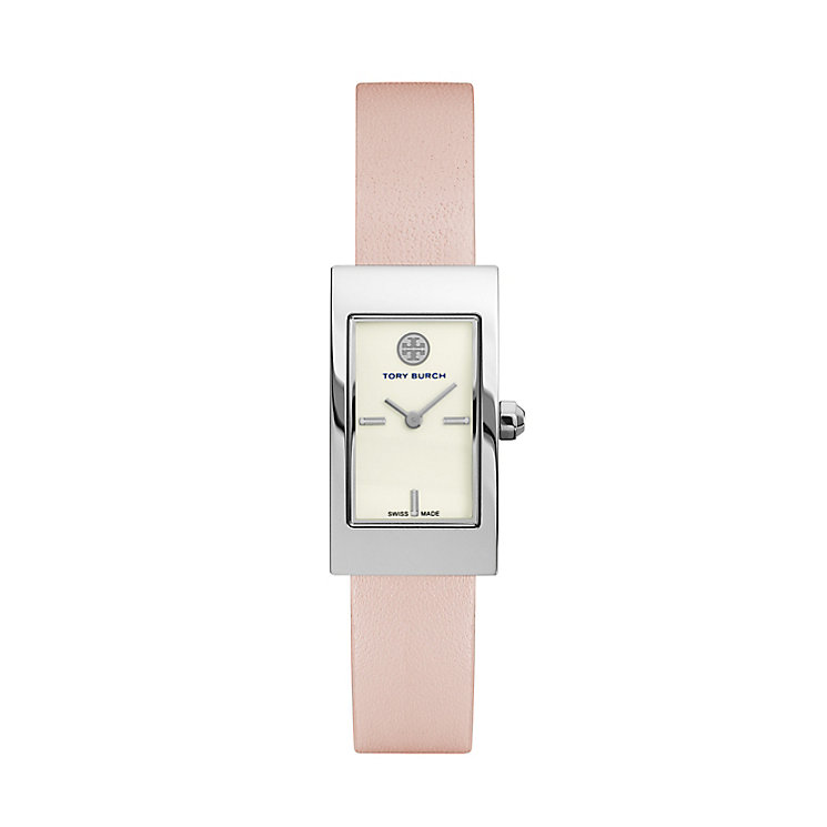 Tory Burch Buddy Ladies Pink Leather Strap Watch - Product number 2361876