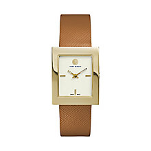 Tory Burch Ladies' Tan Leather Strap Watch - Product number 2361892