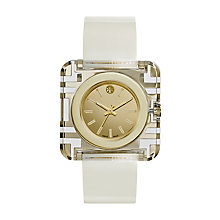 Tory Burch Izzie Ladies' Cream Leather Strap Watch - Product number 2361914