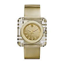 Tory Burch Izzie Ladies' Gold Tone Leather Strap Watch - Product number 2361922