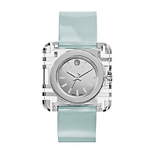 Tory Burch Izzie ladies' blue leather strap watch - Product number 2361949